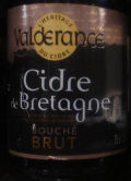 Val de Rance IGP Bretagne Cidre Bouch Brut - Cider