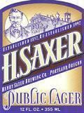 Saxer Public Lager - Premium Lager