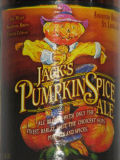 Jacks Pumpkin Spice Ale - Spice/Herb/Vegetable