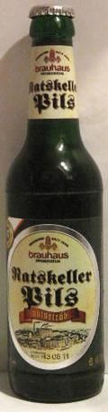 Brauhaus Pforzheim Ratskeller Pils Naturtrb - Zwickel/Keller/Landbier