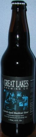 Great Lakes Barrel-Aged Blackout Stout - Imperial Stout