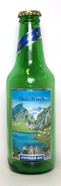 Locher Appenzeller Qullfrisch Hell - Pale Lager