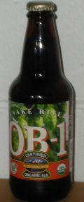 Snake River Organic Beer One &#40;OB-1&#41; - Brown Ale