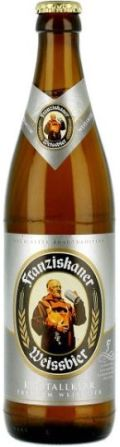 Franziskaner Weissbier &#40;Kristall Klar&#41; - German Kristallweizen