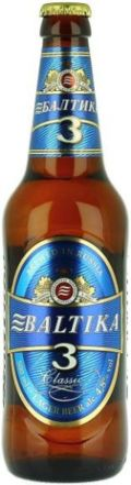 Baltika 3 Klassicheskoe &#40;Classic&#41; - Pale Lager