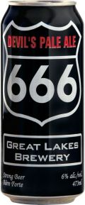 Great Lakes Brewing Devils Pale Ale 666 - American Pale Ale