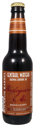 Central Waters Brewers Reserve Bourbon Barrel Barleywine - Barley Wine