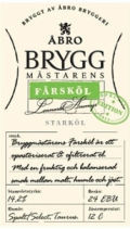 bro Bryggmstarens Frskl - Zwickel/Keller/Landbier