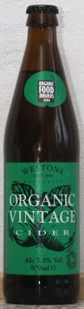 Westons Organic Vintage Cider - Cider