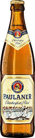 Paulaner Oktoberfest Bier &#40;Wiesn Bier&#41; - Oktoberfest/Mrzen