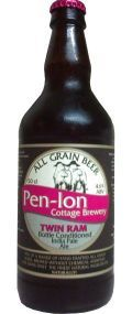 Pen-lon Cottage Twin Ram India Pale Ale - Premium Bitter/ESB