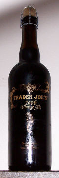 Trader Joes Vintage Ale 2006 - Abbey Dubbel