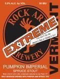 Rock Art Extreme Pumpkin Imperial Spruce Stout - Imperial Stout