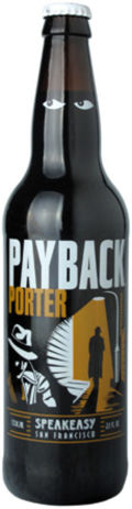 Speakeasy Payback Porter - Porter