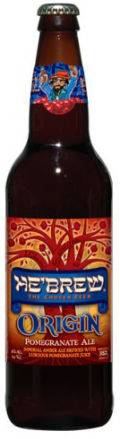 HeBrew Origin Pomegranate Ale - Fruit Beer