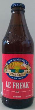 Green Flash Le Freak - Abbey Tripel