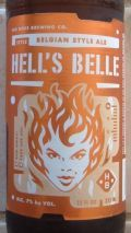 Big Boss Hells Belle Belgian Blond - Belgian Ale