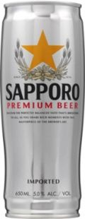 Sapporo Draft Beer / Premium Beer - Pale Lager