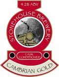 Stonehouse Cambrian Gold - Golden Ale/Blond Ale