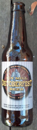 Tin Mill Oktoberfest Beer - Oktoberfest/Mrzen