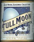 Blue Moon Full Moon Winter Ale - Belgian Ale