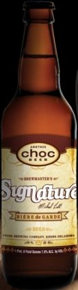 Choc Brewmasters Signature Michael Lalli Biere de Garde - Bire de Garde