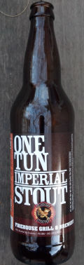 FireHouse One Tun Imperial Stout - Imperial Stout