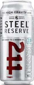 Steel Reserve 211 High Gravity - Malt Liquor