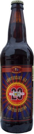 Lakefront Anniversary Ale - American Strong Ale 
