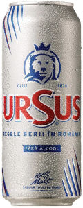Ursus Fara Alcool - Low Alcohol