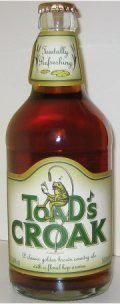Badger Toads Croak &#40;Bottle&#41; - Bitter