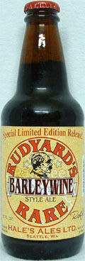 Hales Rudyards Rare Barleywine  - Barley Wine