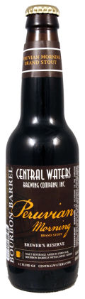 Central Waters Peruvian Morning Imperial Stout - Imperial Stout