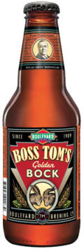 Boulevard Boss Toms Golden Bock - Heller Bock