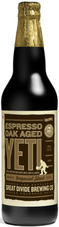 Great Divide Espresso Oak Aged Yeti Imperial Stout - Imperial Stout