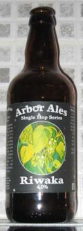 Arbor Single Hop Riwaka - Golden Ale/Blond Ale