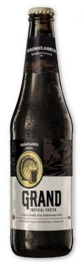 Amber Grand Imperial Porter - Baltic Porter