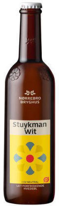 Nrrebro Stuykman Wit &#40;kologisk&#41; - Belgian White &#40;Witbier&#41;