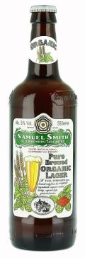 Samuel Smiths Pure Brewed Organic Lager - Premium Lager