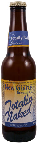 New Glarus Totally Naked Extra Pale Lager - Premium Lager