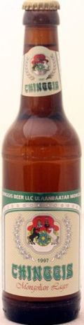 Chinggis Mongolian Lager - Pale Lager