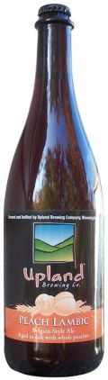 Upland Peach Lambic - Lambic - Fruit