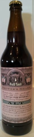 Full Sail Brewers Share Phils Existential Alt - Altbier