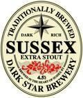 Dark Star Sussex Extra Stout - Stout