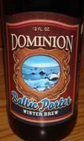 Dominion Winter Brew &#40;Baltic Porter&#41; - Baltic Porter