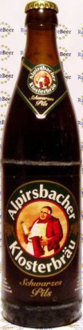 Alpirsbacher Klosterbru Schwarzes Pils - Schwarzbier