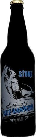 Stone Sublimely Self Righteous Ale - Black IPA