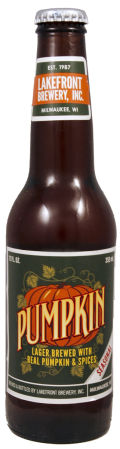 Lakefront Pumpkin Lager - Spice/Herb/Vegetable
