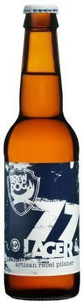 BrewDog 77 Lager  - Pilsener