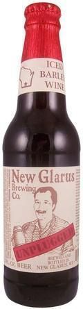 New Glarus Unplugged Iced Barley Wine - Barley Wine